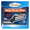 Personna Twin Pivot Plus Cartridge razor blades