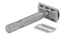Rockwell 6S Adjustable Stainless Steel Safety Razor