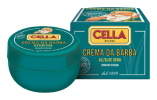 Cella Organic Aloe Vera Shaving Cream, 150ml bowl