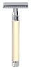 Edwin Jagger Double Edge Safety Razor - Ivory (Long)