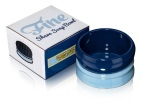 Fine Stoneware Shave Soap Bowl - Blue/Dark Blue