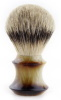QED Select Faux Horn Best Badger 24mm knot