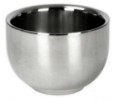 QEDman Stainless Steel Shaving Bowl