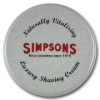 Simpsons Luxury Shaving Cream Unscented, 125ml